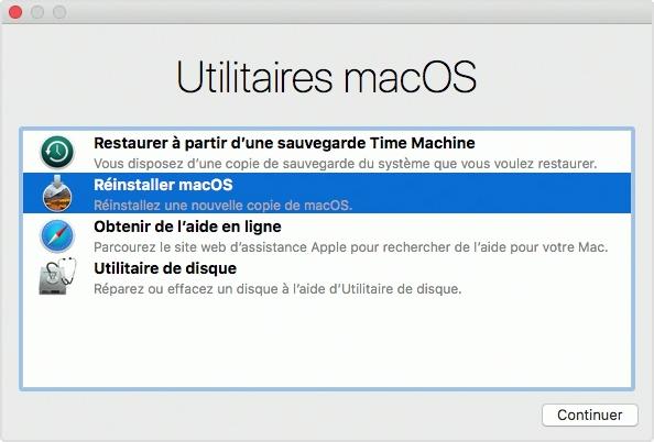 Comment restaurer un Mac ?