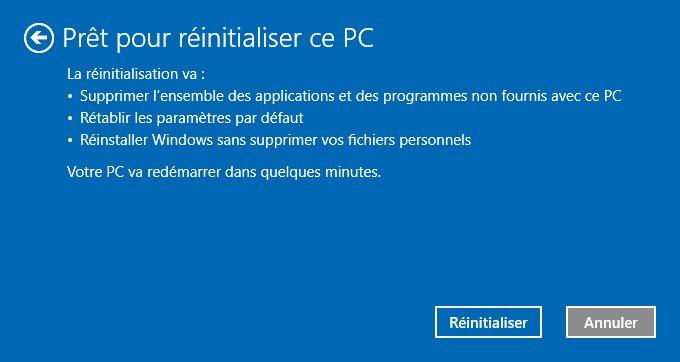 Comment réinstaller Windows ?