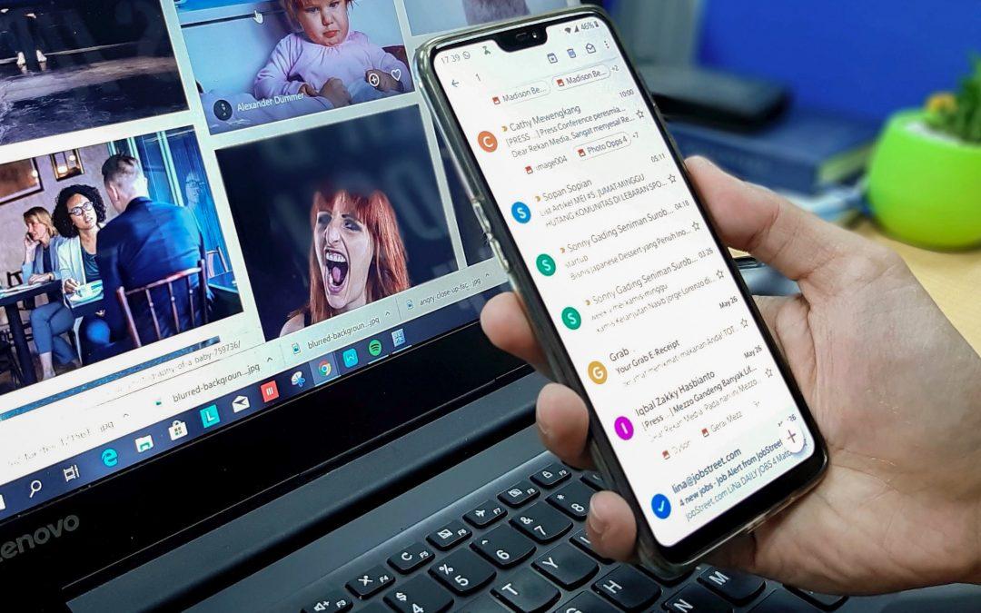 Comment paramétrer votre boîte mail sur smartphone et tablette ?